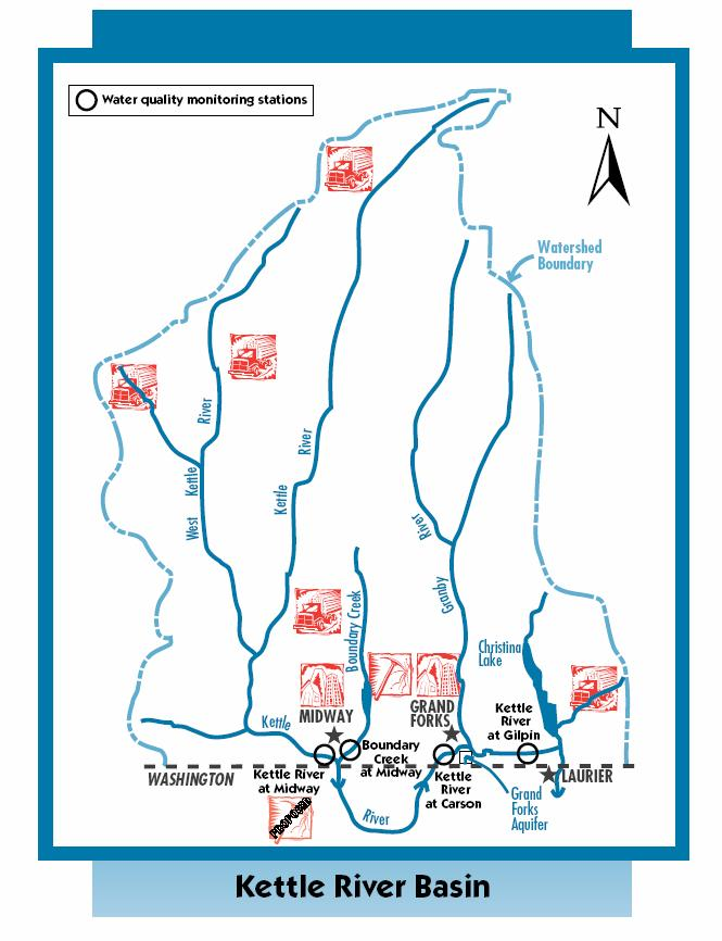 Water Quality Assessment of the Kettle River at