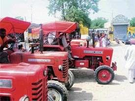 5 ha ) Higher cost of production and lower net income making tractors economically unviable to small and marginal farmers Once a symbol of the Punjab farmer s