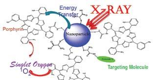 University of Texas at Arlington Nanoparticle Self-Lighting Photodynamic Therapy For Cancer Treatment Abstract: A new therapy for cancer treatment called nanoparticle-self lighting photodynamic