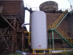 Basic oxygen furnaces (BOFs), on the other hand are designed to use small amounts of scrap and high rates of oxygen injection to remove the high amounts of carbon present in the hot metal.