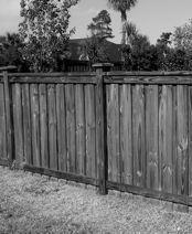 FENCES Privacy fencing and fencing used for screening are allowed on the side and or rear of the home only. Perimeter fencing around entire lot is not allowed.