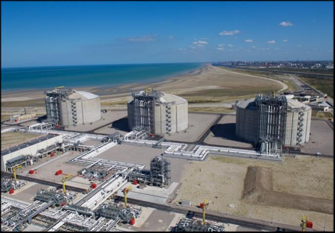 Sea without tide limitations. Dunkerque LNG continues to upgrade the terminal less than a year after the terminal began commercial operations.