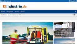 Website Industrie.de (Preise gültig ab 01.10.2017, in, zzgl. MwSt.) Industrie.de the portal for industry Your benefits as an advertiser responsive web design On the Industrie.