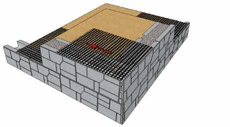 AUSTRAL MASONRY MAGNUMSTONE WALL Outside 90º Corners Step 1 Outside First Course Use a Corner/End Unit to build an outside corner 1st Course Left Corner/End Unit 2nd Course Right Corner/End Unit