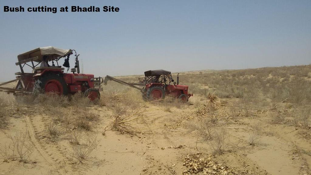 Bhadla Solar Power Project-260 MW( 4 x 65 MW)