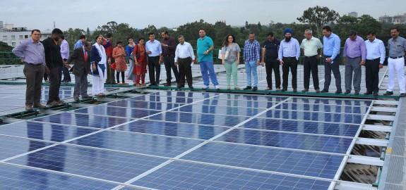 REIL and IOCL NTPC Solar Wind Hybrid project