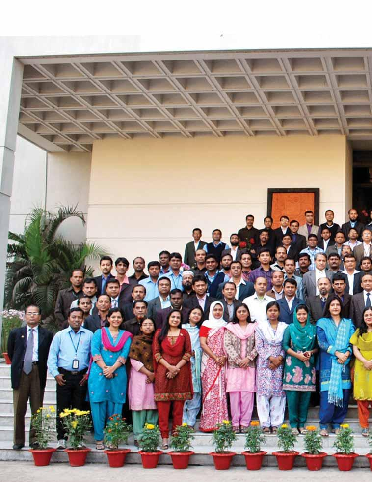 Staff As of 30 June 2011, PKSF management team is supported with 139 regular officers, 80 staff, 56 project personnel, and 2 part-time professionals.