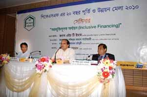 The opening ceremony of 20 th Anniversary of PKSF and Development Fair 2010 was held on 6 November 2010 in PKSF Bhaban. Hon ble Finance Minister, Mr.