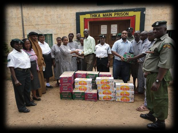 The company also supports several charitable organizations and institutions within and around Thika town through monthly donation of its