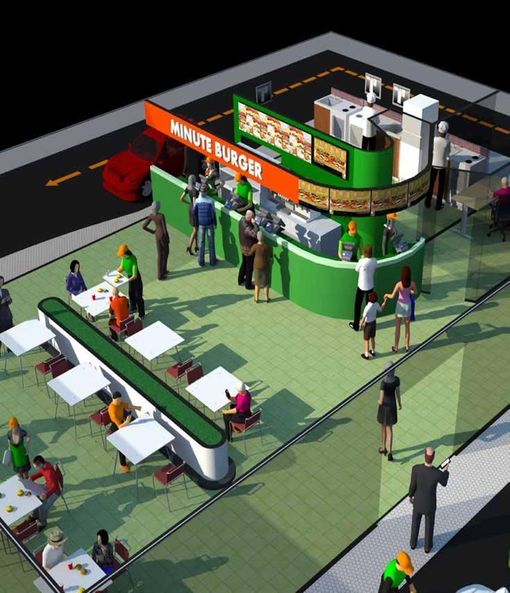 Operate with efficiency KITCHEN DISPLAY AND PRODUCTION: The