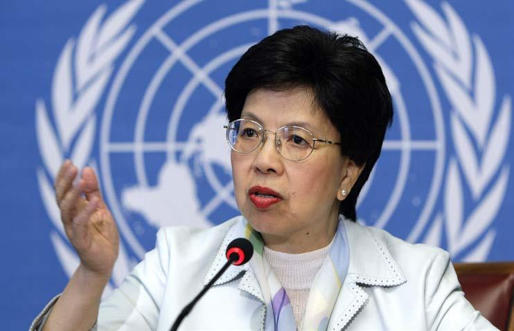 Margaret Chan, MD, Director-General, World Health Organization Climate change is one of the most serious public health threats facing our