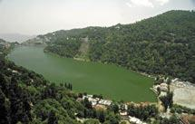 Distribution of lakes in Kumaon Himalaya Nainital Lake Nainital Lake is a natural lake of tectonic origin located in the Kumaon Himalaya (between 29 24 N 79