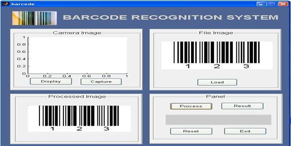 from the barcode-encoding sequence. For these purposes MATLAB s Image Processing Toolbox and Image Acquisition Toolbox are used in this work.
