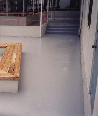 ENECLAD systems can also be used to repair and level damaged concrete surfaces, making them suitable for