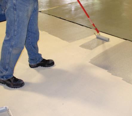 A two component, water-based, breathable coating system specifically designed to seal and protect