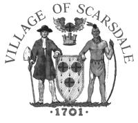 Driveways must include adequate platforms at garage and street levels. All proposed driveways must conform to regulations set by the Village of Scarsdale.