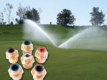 منتجات وخدمات Products & Services أقسام FCI Profile metal nozzles ensure distribution uniformity and reduce water use on golf courses Avista Technologies releases a new RO chemical projection program