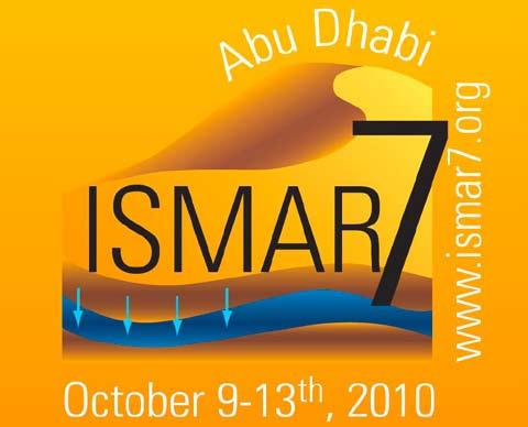 events Event Preview عرض مسبق ملعارض ومؤمترات The 7 th Annual International Symposium on Managed Aquifer Recharge call for abstracts The ISMAR conference series was born in August 1988 in Anaheim