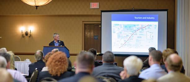 Scheduled for completion in July 2018, the plan will look at trends that impact freight, include updated metro freight system and railroad bottleneck maps, and incorporate results from a regional