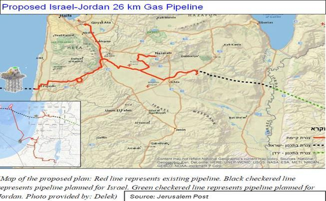 Israel s Gas Export Puzzle Moves Ahead with Immediate Neighbors Deals to supply electricity companies in Jordan, and Gaza; Europe is only a remote option Israeli gas will supply the domestic market