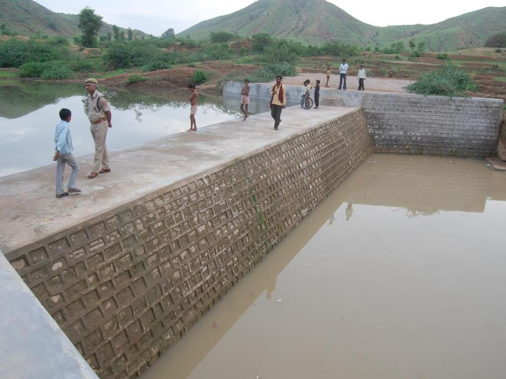Check Dam for Rainwater Conservation