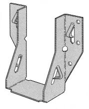 38 BM247 44.00 1.38 BM248 50.00 1.38 Attaches trusses, girders and rafters to wallplates to provide wind restraint.