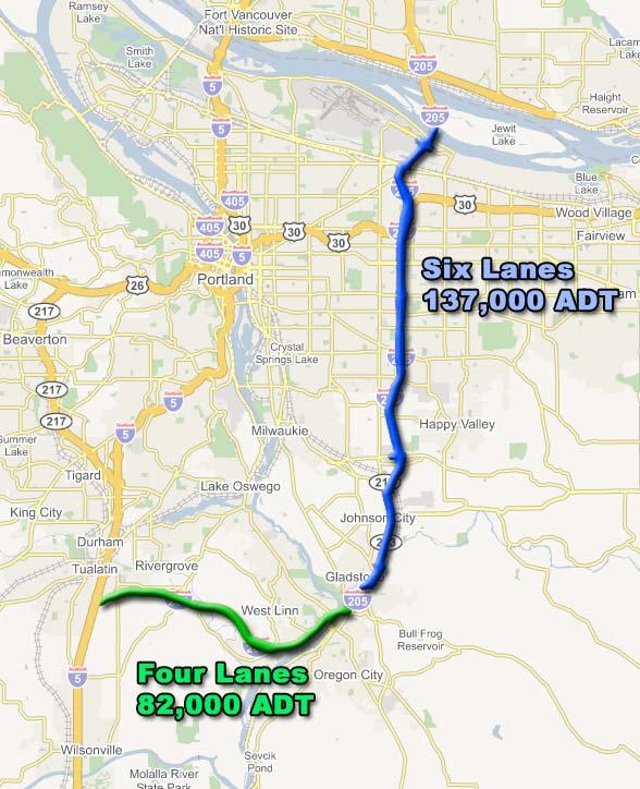 I-205 Project: The Issue I-205 is a 25.