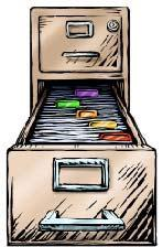 for municipal planner or board secretary to maintain records before archiving required State Archives records retention schedule Permanently archive Official minutes Hearing proceedings Project files