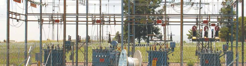 The TDP schemes for the South Grid consist of the integration of the DME OCGT power station at Dedisa, the reinforcement of the greater Port Elizabeth metro area including the Coega IDZ, and the