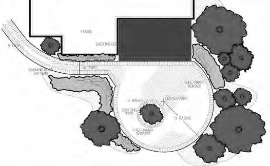 With the drawing and measurements, use the Landscaping Estimator on Menards.com to lay out a few different designs.