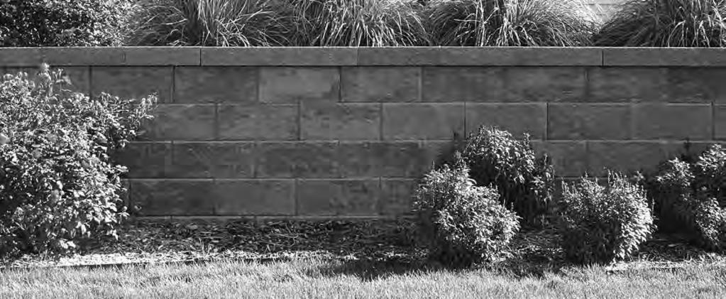"RETAINING WALLS $ PRODUCT DESCRIPTION HxWxD WEIGHT PER BLOCK RECOMMENDED WALL HEIGHT BLOCKS PER SQUARE FT (by block face) COLORS Crestone LT 3-1/2"" x 8"" x"