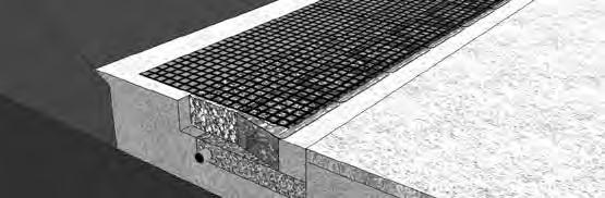 BASIC GEOGRID REINFORCEMENT Step 1 - Preparation for Grid The area behind the wall on the grid layer needs to be level with the top of the