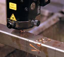 QUALITY SERVICE SATISFACTION ADVANTAGES OF LASER CUTTING - Technically superior to other cutting processes - Precision high quality cutting at rapid rates - Dimension accuracy and
