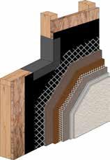 Armourwall Krak-Shield Systems: Enhanced crack resistance Maximize energy efficiency with Continuous Insulation (CI) Armourwall Krak-Shield Water Resistive Barriers Flashing Membrane Mesh * Embedded