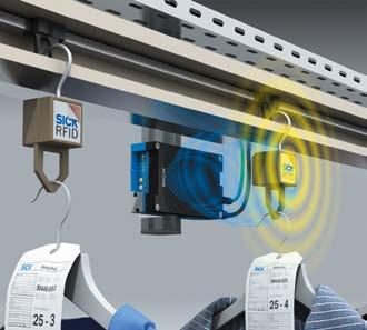 More than a vision IDENTIFICATION AT A GLANCE RFID RFH6xx Scanning ranges of up to 240 mm