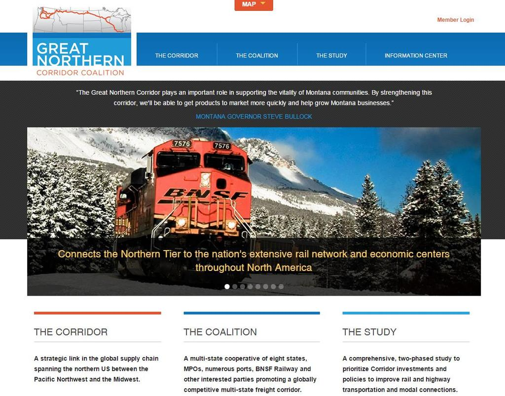 GNC Website Interactive website for public and