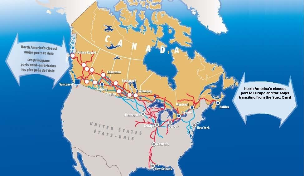 Canada s Gateways and Trade Corridors: System-wide Approach Efficient, reliable and secure gateways to North America Asia-Pacific Gateway and Corridor Initiative Ontario-Quebec