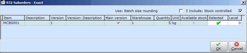 Chapter 5 Production Management To create production orders: 1. Go to Manufacturing Entries Production orders. 2. Click New. The Production orders screen will be displayed. 3.