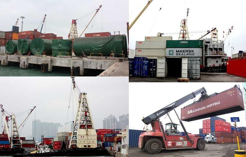 Feeder Port Operations In Hong Kong, the Group has its own Feeder Port Operations