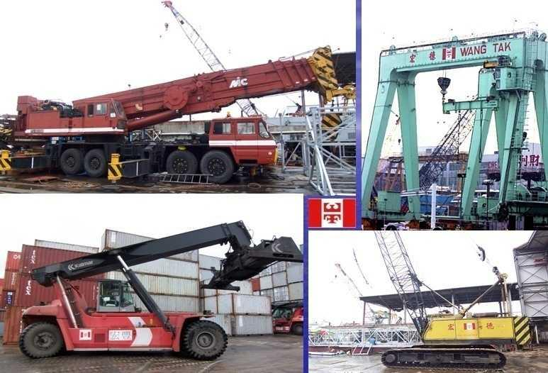 Group s owned Equipments Other than barges and floating cranes, our Group also equips with hydraulic truck crane &