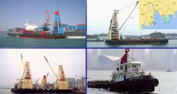 Project transport under our barge operations The Company operates its own fleet of modern Tugs and Barges available