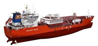 LPG fueled Power Ship