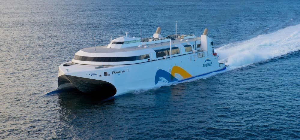 Leading ship propulsion innovation GE gas turbines: Powering the world s first LNG and LPG fueled ferries 1 st LNG fueled ferry in 2013 1 st LPG fueled ferry in 2019 Lowest annual operating cost of