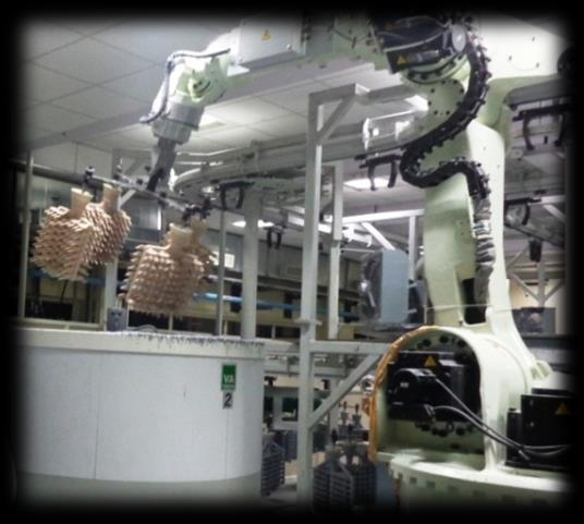 Robotic shell making Equipment