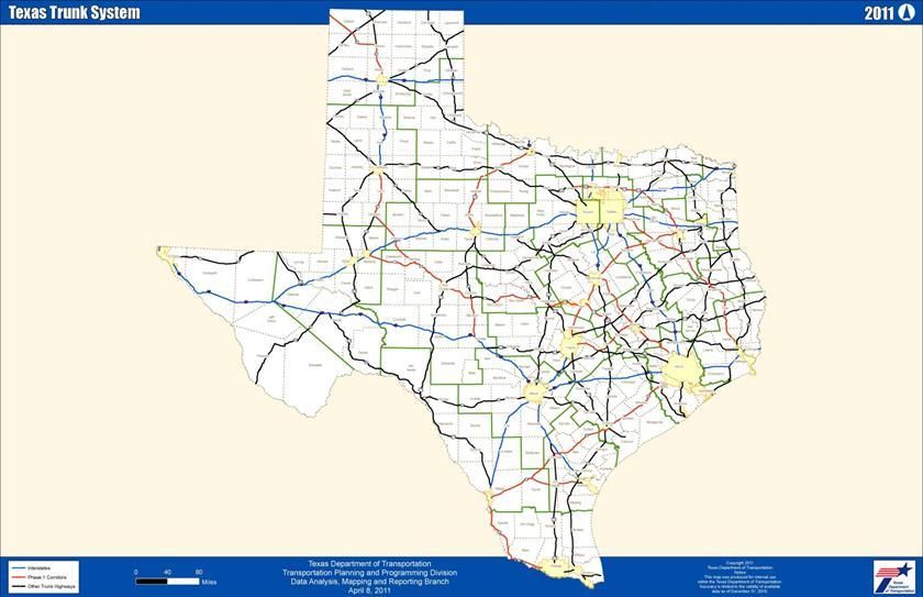 Development of the Texas Freight