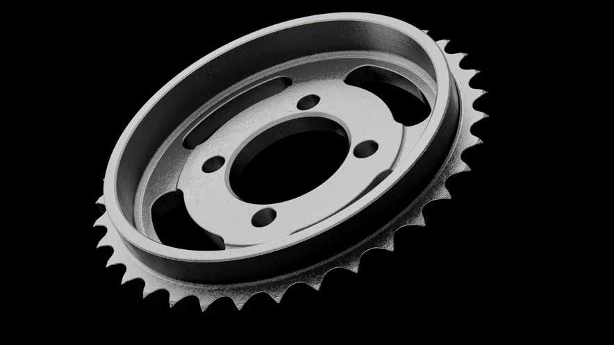 CAMSHAFT SPROCKET MATERIAL PART