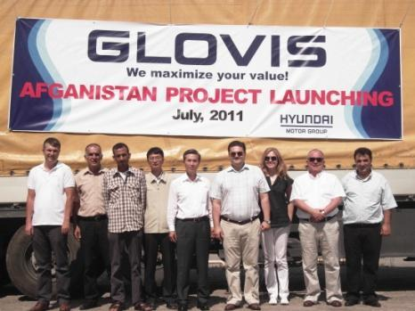 - GLOVIS INDIA will start the business based on the main transportation route - 1,500KM, from HMI(Chennai) to