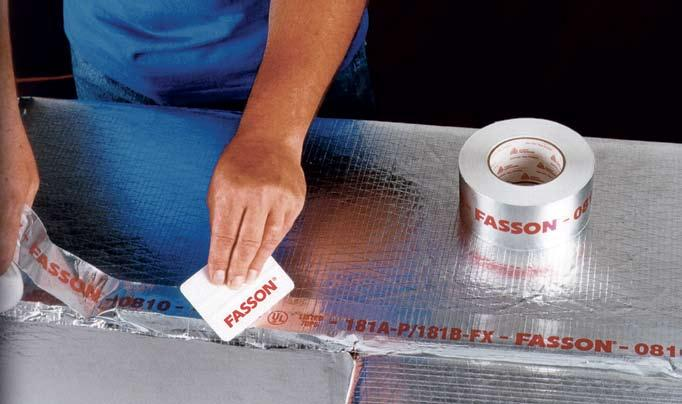 HVAC Fastening Systems Overview Avery Dennison Specialty Tape Division provides high quality foil and