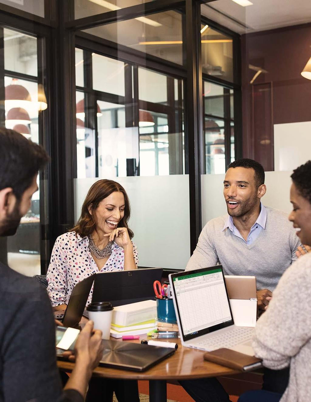 Preparing the workplace for tomorrow By becoming a strategic partner today, IT can help bring together people, processes, and technology to create a digital workplace that enables continued growth