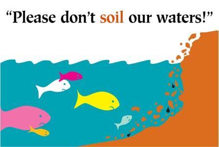 Water Pollution Agriculture, industry and urban areas are the main sources of water pollution.